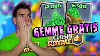 Clash Royale Gemme GRATIS! Ecco come averle