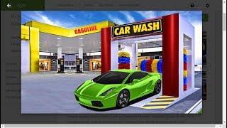 Modren car wash - amazing steam dry car wash -simulator race car (IBM GAME )
