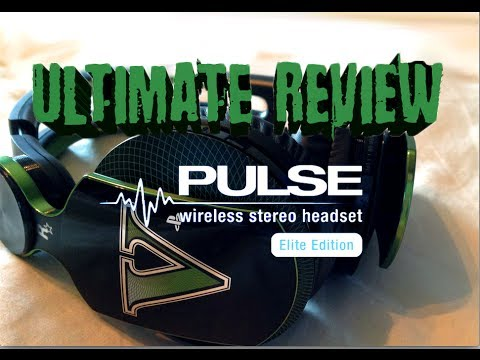 Ultimate Review- Sony Pulse Wireless Stereo 7.1 Headset Elite GTA V Edition- Mic Test & Xbox 360 Use