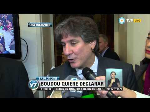 Visión 7 - Caso Ciccone: Boudou quiere declarar