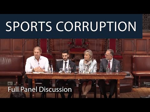 Oxford Union Panel on Sports Corruption | What Happened to Fair Play?