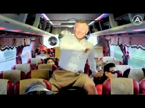 Sốc với màn nhảy Gangnam Style của Sir Alex