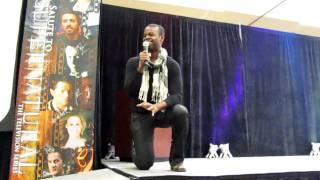 Demore Barnes- Supernatural Vancon 2010 (clip 1)