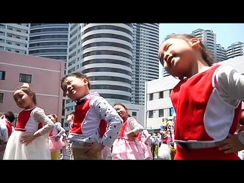 North Korea marks Child Health Day - no comment