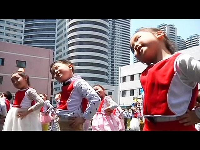 North Korea marks Child Health Day - no comment