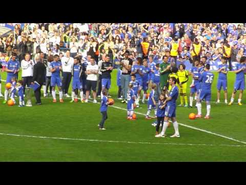 Chelsea Lap Of Honour 2012/13