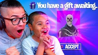 NEW *LEAKED* GIFTING SYSTEM INFO!! RIP SKULL TROOPER AND *RARE SKINS? GIFTING FORTNITE BATTLE ROYALE
