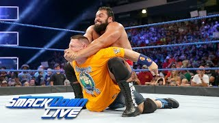 Rusev blindsides John Cena ahead of their Flag Match: SmackDown LIVE, July 18, 2017