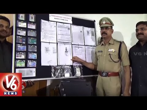 North Zone Task Force Police Busted Fake Certificates Gang | Hyderabad | V6 News
