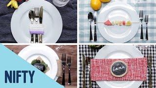 6 Creative DIY Place Cards