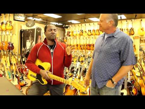 David Harris - John Mayer's Guitarist at Norman's Rare Guitars