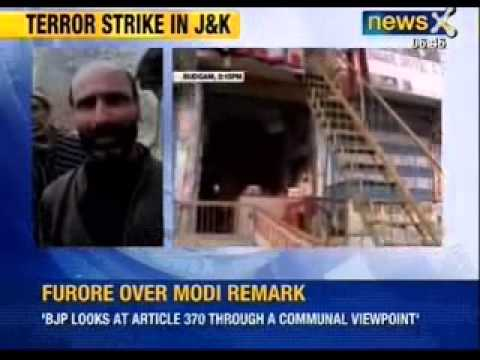 Terrorists attack police party in Jammu and Kashmir, SHO killed - NewsX