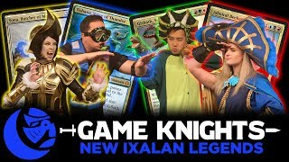 New Ixalan Legends l Game Knights #11 l Magic the Gathering gameplay Commander/EDH