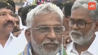 YSRCP Ex MP YV Subba Reddy Opens Party office at Ibrahimpatnam Near Vijayawada