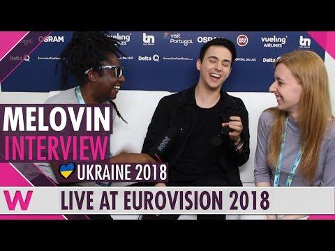 Mélovin (Ukraine) Interview @ Eurovision 2018   wiwibloggs