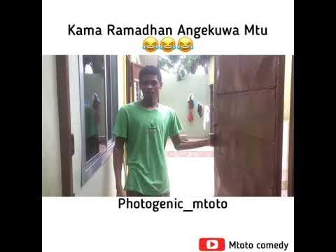 Kama Ramadhan Angekuwa mtu #1
