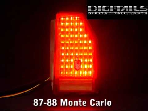 Digi Tails 1987 88 Chevy Monte Carlo Sequential Led Tail Lights Youtube