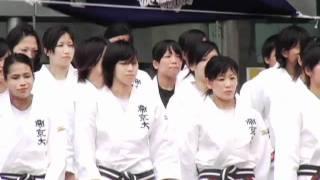 女子柔道部「優勝報告会&壮行会 編」