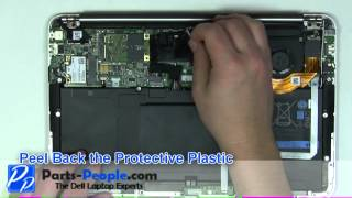 Dell XPS 13 Ultrabook | SSD (Solid State Drive) Replacement | How-To-Tutorial