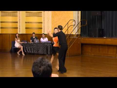 2015 Australian Bachata Championship - Amateur Couple - Paul and Shahrzadeh