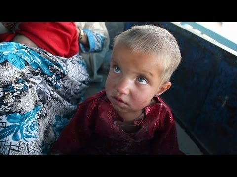Treating polio in Afghanistan