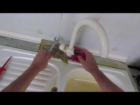 Tropfender Wasserhahn an der Spüle - Ventiloberteil austauschen
