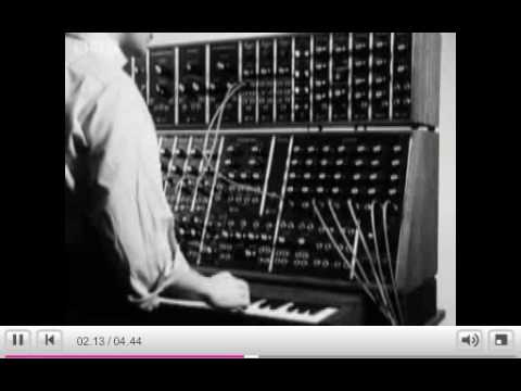 BBC Archive Tomorrow's World Moog Synthesiser