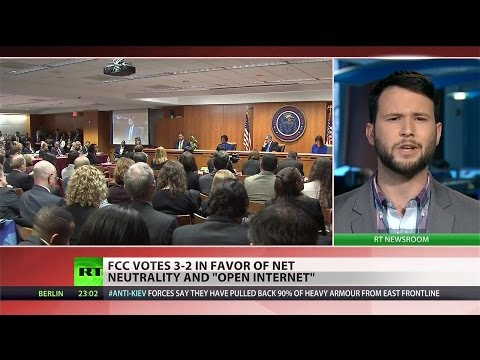 FCC votes for net neutrality, opponents ready to fight