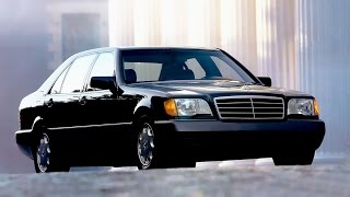 Mercedes W140 promotion video USA