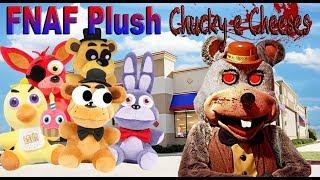 FNAF Plush - Fazbears Go To Chucky e Cheeses