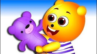 Gummy Bear Baby plays with toy songs for Children 💗 Children's Cartoons & Nursery Rhymes for Kids
