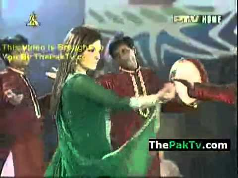 Khoob Sy Khoob Ter Good Luck Team Pakistan Cricket World Cup 2011 Main Show2.flv video