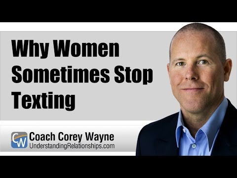 Why Women Sometimes Stop Texting