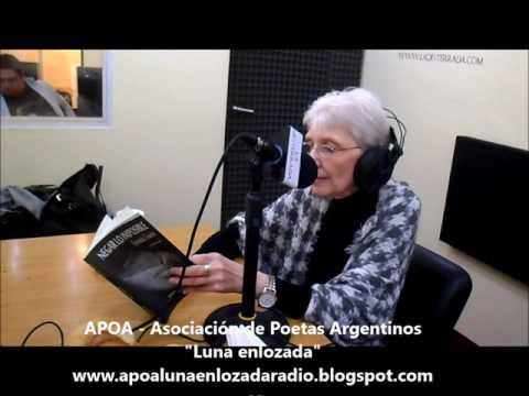 """Fernanda Colombo en """"Luna enlozada"""" por Radio """"La desterrada"""" - jueves 14-04-2016"""