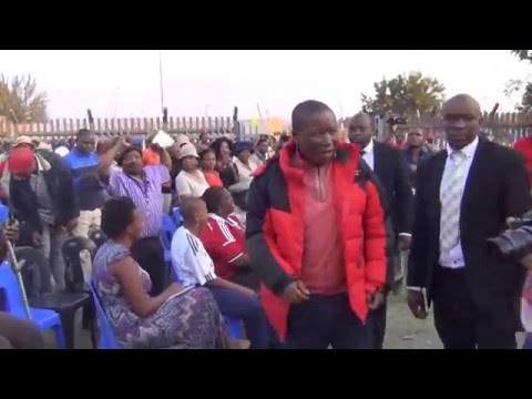 Malema: There is no drug that will give you a better life