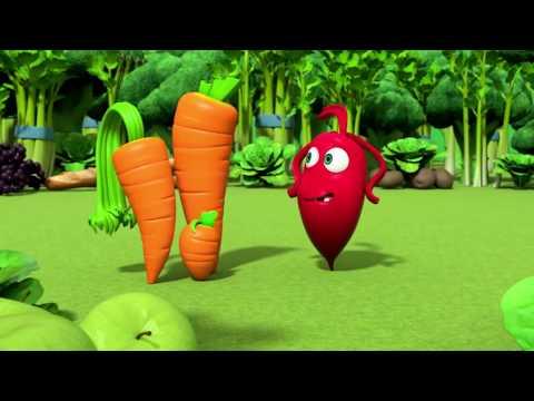 Прикольный мультик «Овощная вечеринка» - Морковка (97 серия)