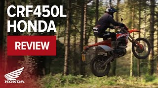 CRF450L Dual Purpose Motorcycle Review - 2019