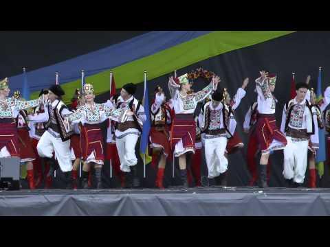 23-тя Річниця Незалежності України / Ч.1/3 / Канада / Торонто / Ukrainian Independence Day 2014