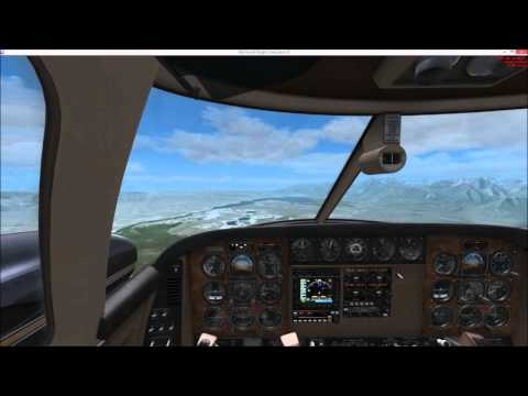A wonderful approach into Mammoth Lakes in California. The scenery is still by BlueSky Sceneries, I hope you'll like it. Tags : landing mammoth lakes kmmh airport beechcraft duke b60 realair...