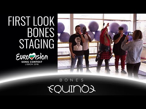 FIRST LOOK AT STAGING OF BONES BY EQUINOX  | BULGARIA EUROVISION 2018  | Б�Т ЕВРОВИЗИЯ БЪЛГ�РИЯ