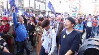 People's Vote March for the Future 20.10.18 Timelapse Video