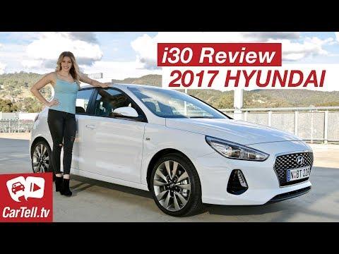 2017 Hyundai i30 Review SR Turbo | CarTell.tv