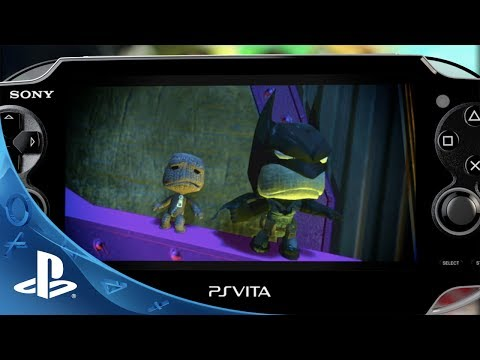 LittleBigPlanet Vita - DC Comics Premium Level Pack Trailer