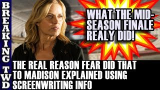 EXPLAINED! Why AMC/Writers Did That To Madison Clark in Mid Season Finale | Fear Walking Dead S4E8