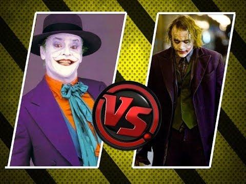 Quién es el mejor Joker: Nicholson vs Ledger VERSUS