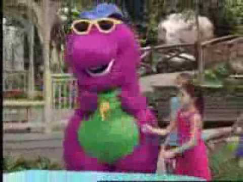 Barney Raps In His Stunna Shades