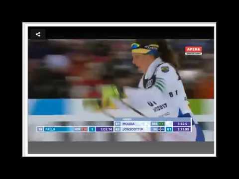 Lahti 2017 FIS World Championships - SP F Q - Bruna Moura