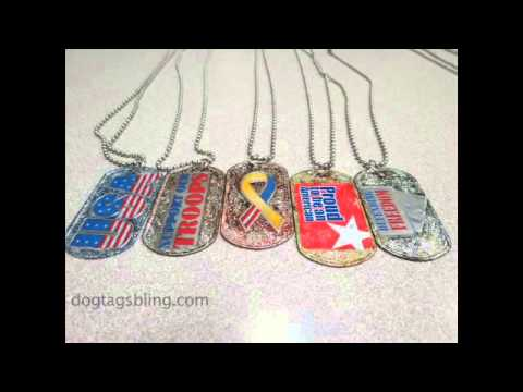 Dog Tags Bling On KHTS