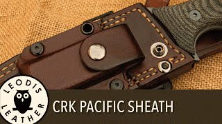 Making a Chris Reeve Pacific Leather Sheath