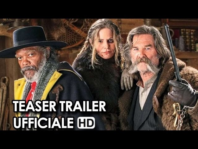 The Hateful Eight Trailer Teaser Ufficiale V.O. (2016) - Quentin Tarantino HD
